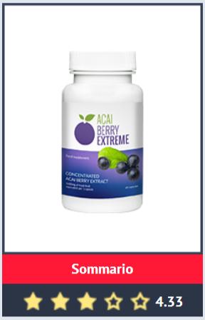 Acai Berry Extreme pillole per dimagrire