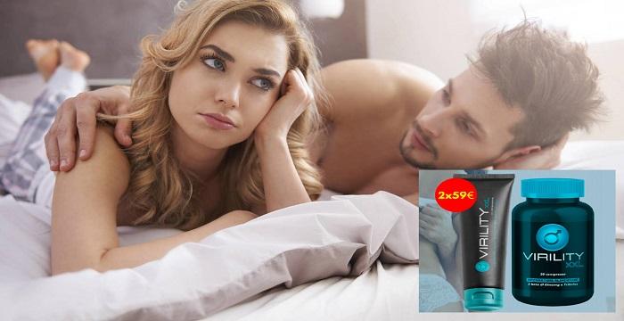 Virility XXL pillole per erezione