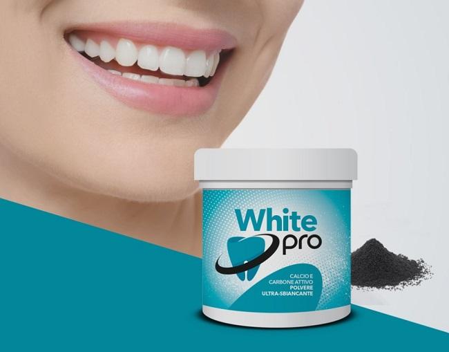 dentifricio sbiancante white pro