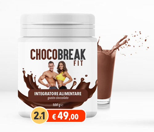 ChocoBreak Fit integratore dimagrante